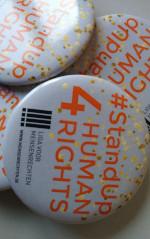 #StandUp4 HumanRights-pin (5 stuks)